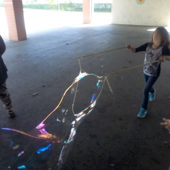 Animation bulles de savon géantes 5