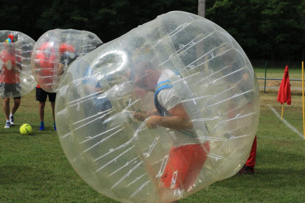 Les épreuves d'olympiades - Foot bulles