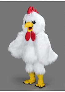 mascotte poule